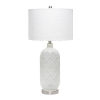 This item: Opal White One-Light Table Lamp