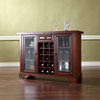 This item: Wellington Sliding Top Bar Cabinet in Vintage Mahogany Finish