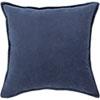 This item: Loring Navy Cotton Velvet I8 In. Throw Pillow