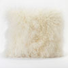 This item: Vivian Fur Cream Square Decorative Pillow
