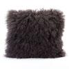 This item: Vivian Fur Grey Square Decorative Pillow