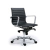 This item: Uptown Low Back Black Office Chair, Set of 2