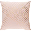 This item: Monroe Blush and Gold 20 In. Throw Pillow