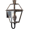 This item: Webster Aged Copper 24-Inch Two-Light Outdoor Wall Sconce