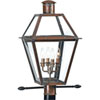 This item: Webster Aged Copper Four-Light Outdoor
