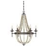 This item: Grace Stone Six-Light Chandelier