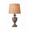 This item: Evelyn Weathered Wood One-Light  Accent Lamp