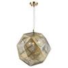 This item: Uptown Rose Gold Three-Light Pendant