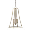This item: Whitter Aged Brass 18-Inch Four-Light Pendant
