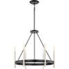 This item: Uptown Black Six-Light Chandelier