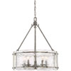 This item: Nicollet Silver Five-Light Pendant