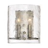 This item: Nicollet Silver Two-Light Wall Sconce