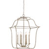This item: Whittier Silver Leaf 22-Inch Six-Light Pendant
