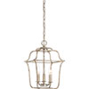 This item: Whitter Silver Leaf Three-Light Pendant