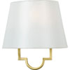 This item: Linden Gold One-Light Wall Sconce