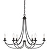 This item: Evelyn Bronze Six-Light Chandelier