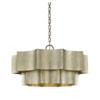This item: Whittier Silver Patina Six-Light Pendant