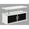 This item: Nicollet White Two Door TV Stand