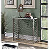 This item: Vivian Silver Tranquility Console Table