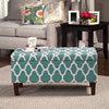This item: Selby Teal Storage Ottoman