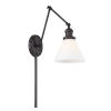 This item: Elle Oil Rubbed Bronze One-Light Wall Sconce