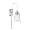This item: Anna Chrome One-Light Wall Sconce