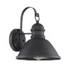 This item: Ash Matte Black One-Light Outdoor Wall Sconce
