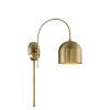 This item: Artemis Natural Brass One-Light Adjustable Wall Sconce