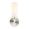 This item: Loring Satin Nickel Three-Inch One-Light Wall Sconce