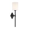 This item: Anita Matte Black One-Light Wall Sconce