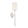 This item: Anita Polished Nickel One-Light Wall Sconce
