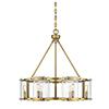 This item: Bryant Warm Brass Six-Light Pendant