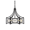 This item: Russell English Bronze Six-Light Chandelier