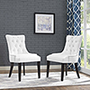 This item: Vivian White Dining Chair, Set of Two