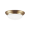 This item: Bryant Satin Bronze 14-Inch LED Flush Mount