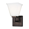 This item: Aster Brushed Oil Rubbed Bronze One-Light Wall Sconce