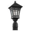 This item: Uptown Black One-Light Outdoor Post Lantern