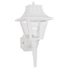 This item: Claire White 8-Inch Wide One-Light Outdoor Wall Lantern
