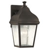 This item: Kate Oil Rubbed Bronze Outdoor Wall Lantern Light