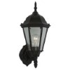 This item: George Bronze 17-Inch High One-Light Outdoor Wall Lantern