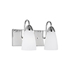 This item: Nora Chrome Two-Light Wall Sconce