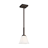 This item: Aster Brushed Oil Rubbed Bronze One-Light Energy Star Mini Pendant