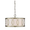 This item: Linden Argentum Three-Light Drum Pendant