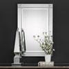 This item: Whittier Rectangular Beveled Mirror