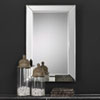 This item: Uptown Rectangular Beveled Mirror
