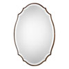 This item: Evelyn Oval Gold Mirror