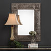 This item: Wellington Rectangular Metal Mirror