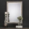 This item: Hayden Rectangular Champagne Silver Mirror