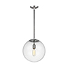 This item: Cora Globe Satin Aluminium 14-Inch One-Light Pendant