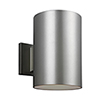 This item: Castor Painted Brushed Nickel Nine-Inch LED Outdoor Wall Sconce